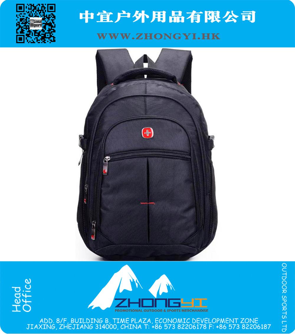 9e6bda9ca92 14.6 Inch Black Orginal swiss gear backpack mochila feminina men ...