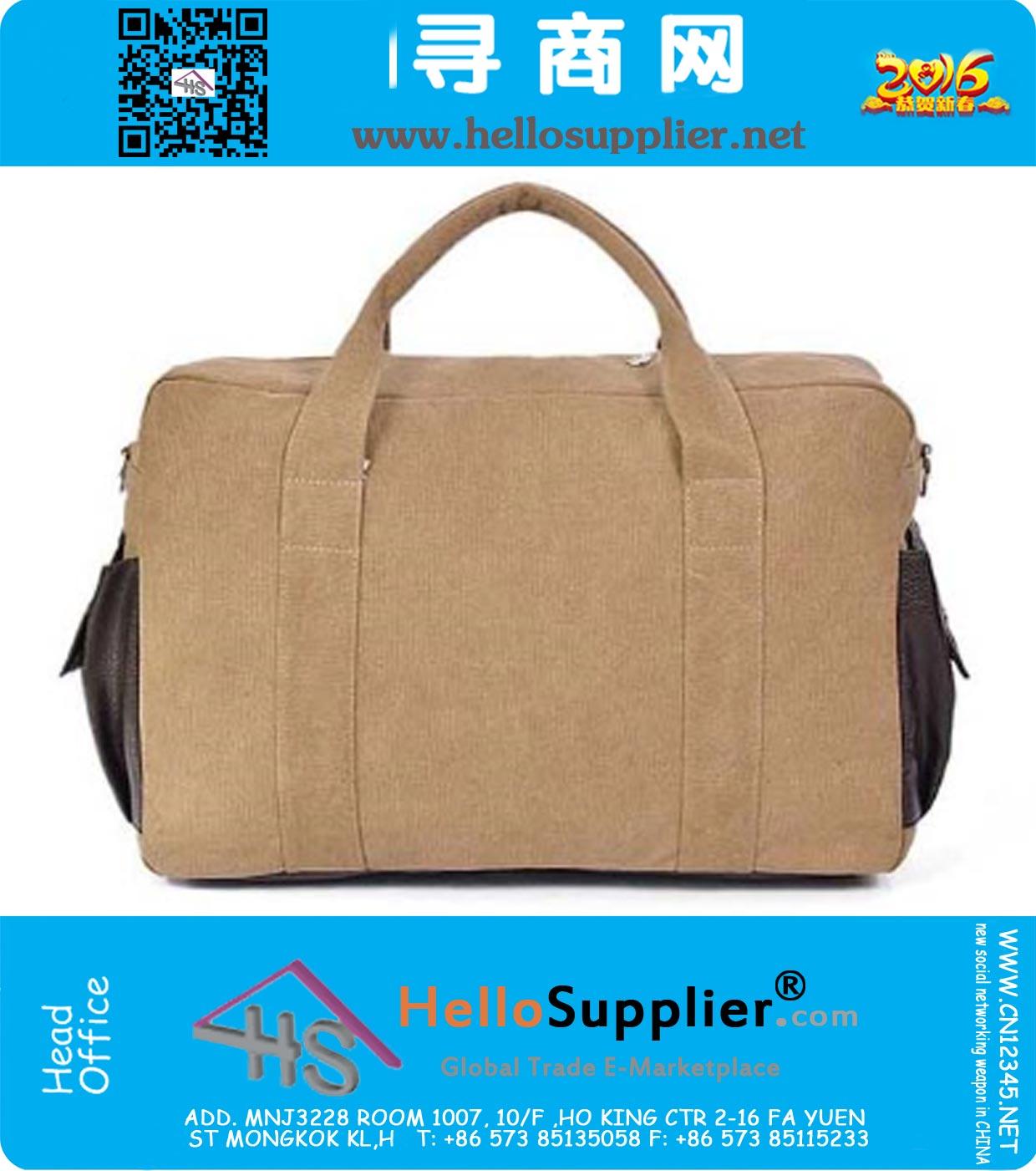 Outdoor Schoudertassen : Messenger bags canvas vintage schoudertassen voor mannen