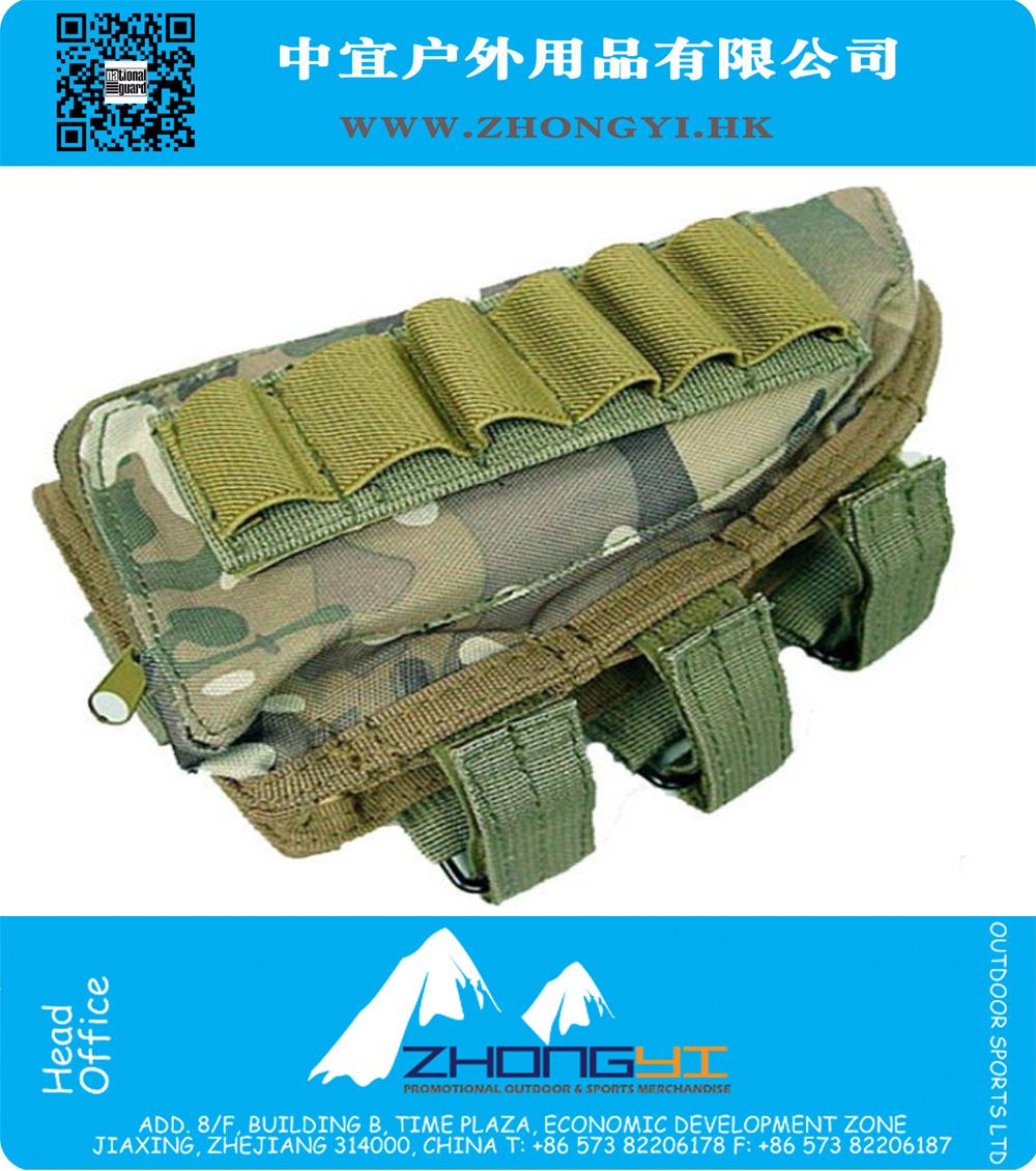 Airsoft Shotgun Rifle Ammo Pouch Cheek Pad MultiCam