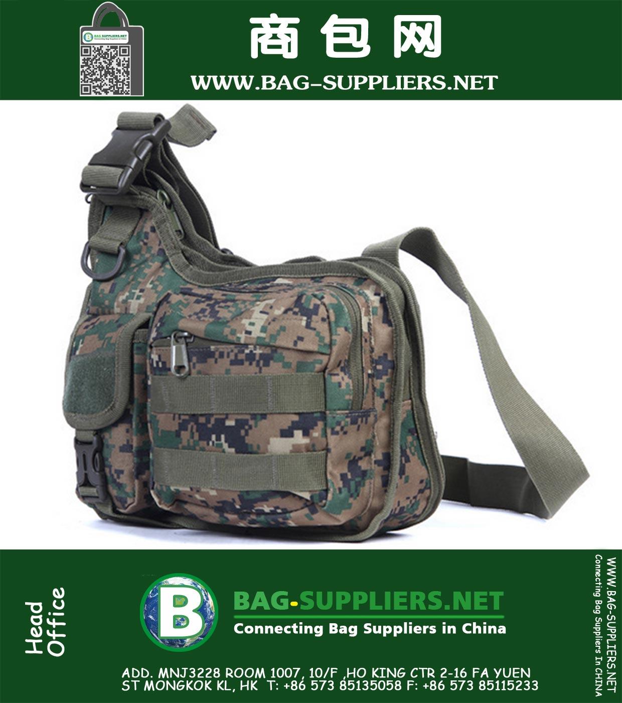 Crossbody Bags Men Hiking Trekking Outdoor Sport Climbing Camping Women Messenger Travel Tactical Shoulder