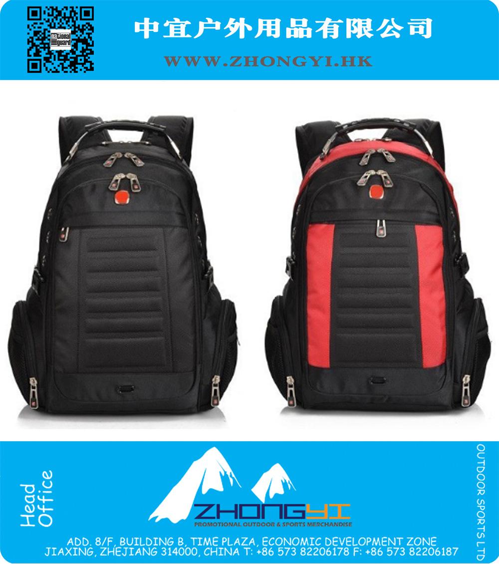 3836a4f46d57 Модный человек Рюкзак бренд дизайн Мужская дорожная сумка полиэстер сумка  Мужская компьютер Packsack Швейцарский Outsports рюкзаки Оптовая