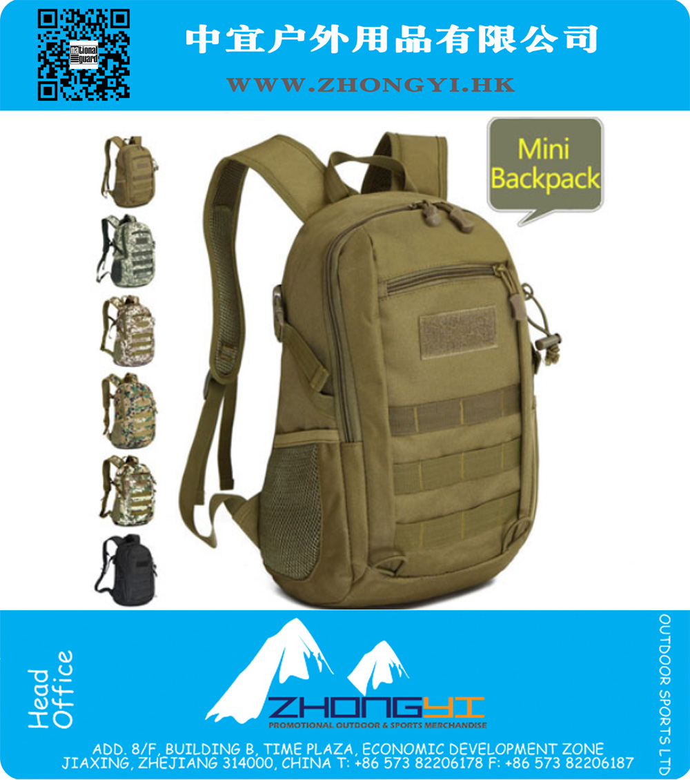 Men Backpack Molle Mochila Women Mini School Bagpack Military Camouflage Camping Bag 3P Hunting Gym Ripstop Tactical Swissgear, ZYMR-FP002