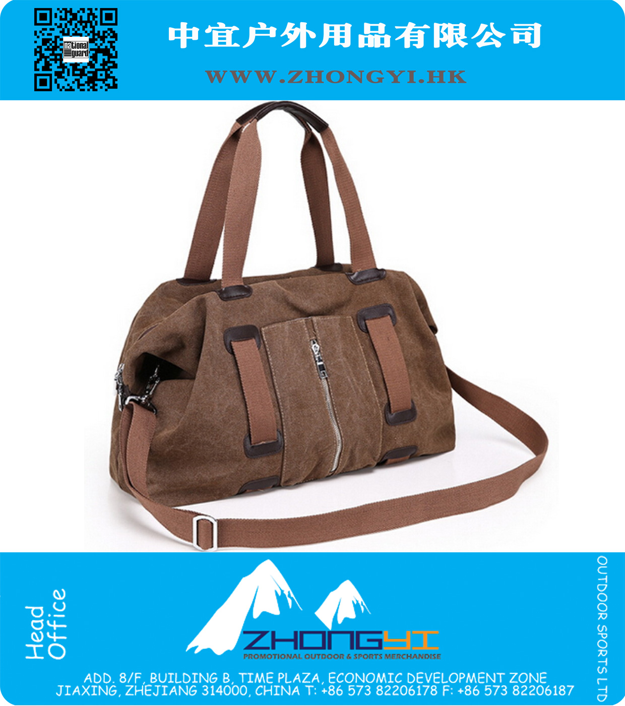 New Style Fashion Sports Travel Bag Large Capacity Bag Men Canvas Bag Men  Travel Handbags Messenger ... a11583f14c9ac