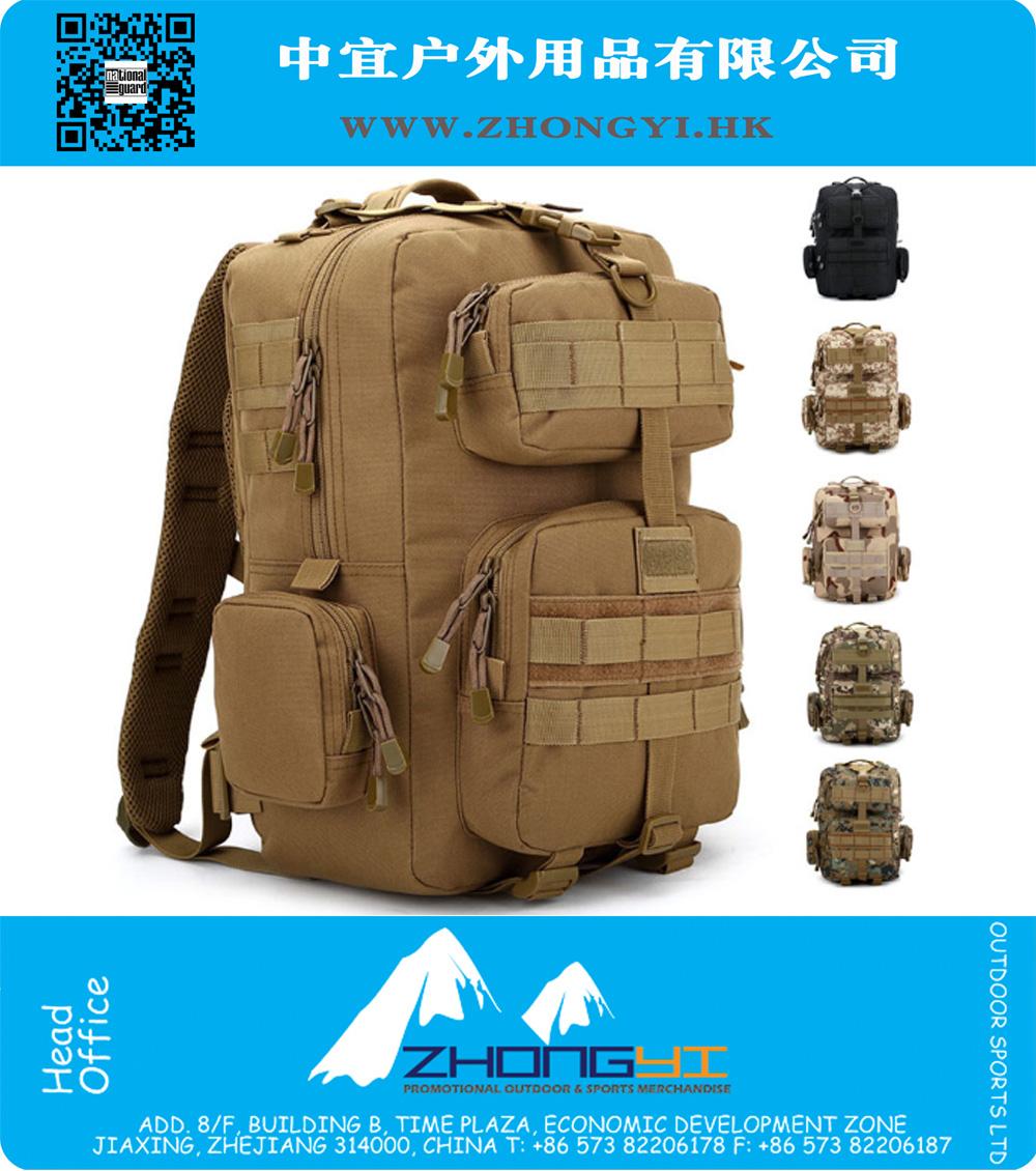 Outdoor 35L Military Men 1000D Nylon YKK zipper backpack Tactical Camping  Hiking Bag Camera Backpacks Trekking Rucksacks, ZYMR-FT004