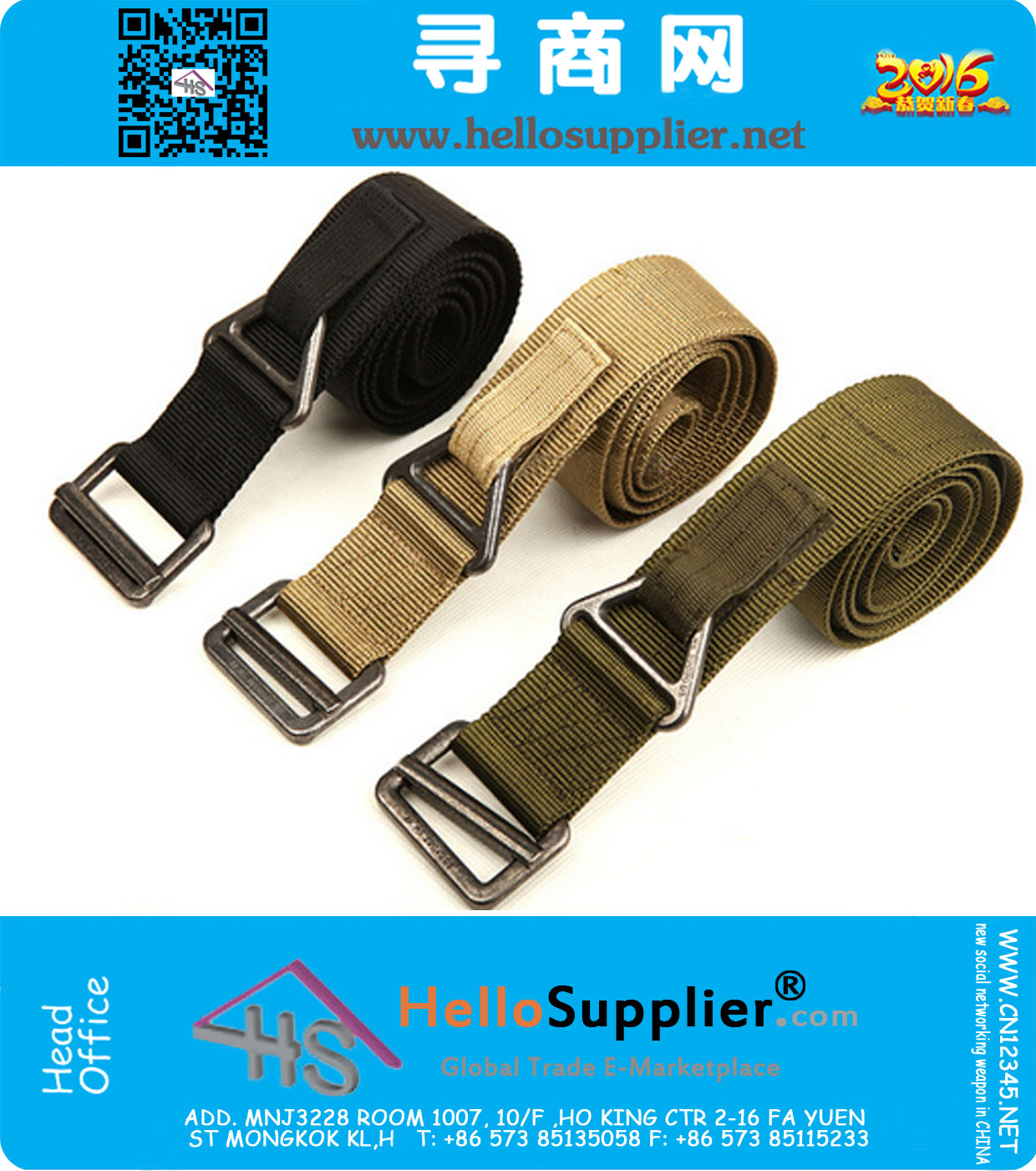 Outdoor Tactical Belt Men/'s Military Belts Army Canvas Adjustable Waistband