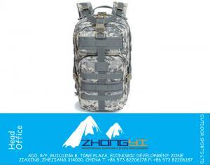 3P Assault Taktik CS Sırt Açık Spor Seyahat Çantaları 1000D Naylon Askeri Sırt Çantası Kamp Yürüyüş Sırt Trekking Çanta