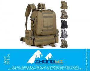 50L all'aperto di viaggio militare tattico zaino Molle Bag System Life Saver Bug Out Bag sopravvivenza Carry Bag Assalto tattico