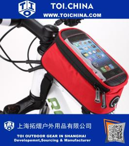 Bicycle Mobile Phone Holder Cycle Bike Iphone 6S Frame Pouch Bag Case