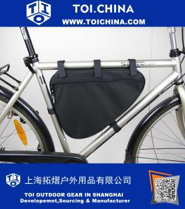 Big Triangle Frame Bag Bicycle Cycle Bike Bag