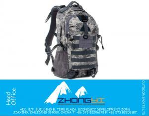 التمويه العلامة التجارية ذات جودة عالية للرجال ثنية كيس نايلون مقاوم للماء 35 L السفر المشي لمسافات طويلة على الظهر تسلق الجبال مزدوجة الكتف