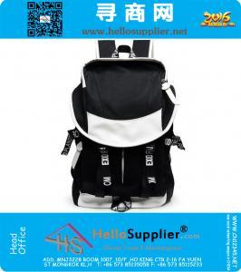 Холст мешок школы Рюкзак рюкзаки Студент кемпинга Сумки