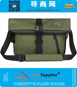 Mode-Männer Weinlese-Segeltuch-Schule Messenger Bag Satchel Marke Military Men Laptop-Schulter Messenger Bag