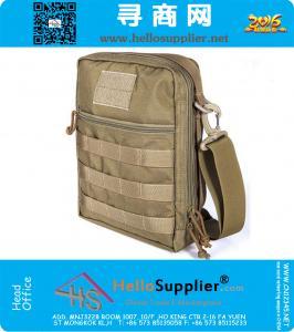 Cordura 1000D Nylon imperméable Molle EDC tactique Commute Sling Pack Sport Sac Messenger épaule Dispatch Sacs