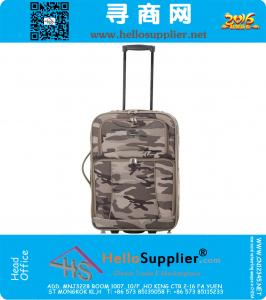 Luggage large capacity men Army Green Camouflage trolley bag Smith lever women directional wheel Travel Bag