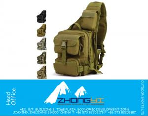 MOLLE System Single Schouder Sling Borst Bag Hunting Heavy Duty Carrier tactische Sport Survival Military Carry Bag