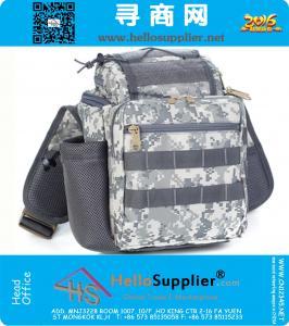 sport degli uomini di stile dell'esercito Croce impacco casuale cinghia singolo Sling una spalla da campeggio Borse Camera Bag