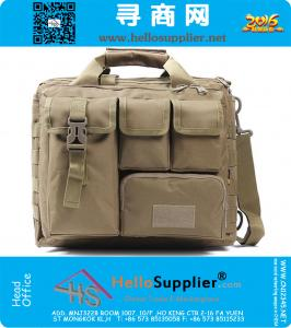 Männer Frauen Unisex Computerbefehl Taschen Tactical Molle Schulter-Satz-Militär Gym Duffle Bag