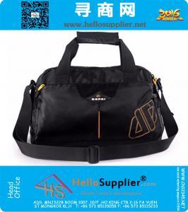 Uomo di ginnastica Borse di formazione pacchetto dei bagagli del PVC di viaggio Sport Bag Messaggio per gli uomini impermeabile Solid viaggio Duffel
