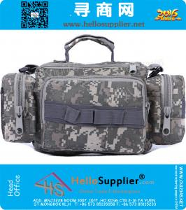 Mens Military Tactical Luggage Travel Bags Outdoor Sport Waterproof Suitcase Hiking Duffle Bag