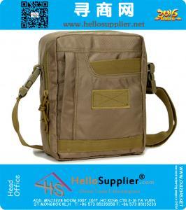 Militaire tactische reizen wandelen kamperen Sport School laptop Amry schoudertas Messenger Bag Briefcase bag