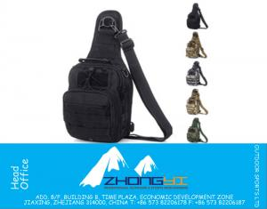 Molle Tactical Outdoor Camouflage Chest Pack Sport Single Schouder Crossbody Man Army Surplus Gear Equipment Hot Bag