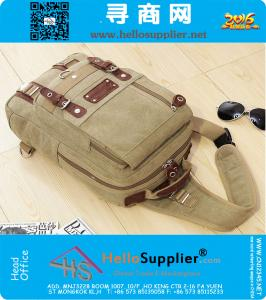 New multifunction classic canvas bags men bags chest bag messenger bag casual mens sport handbags