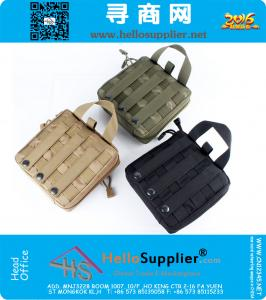 Outdoor 1000D Cordura First Aid Kit di emergenza militare pratico tattico strumento Pouch risposta Trauma Bag 3 colori