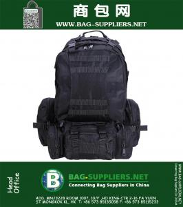 Outdoor Military Molle Army Tactical Backpack Rucksack Sports Camping Hiking Bag Black Pack