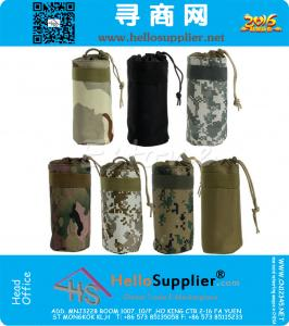 Außen Tactical Military Water Bottle Bag Kettle-Beutel-Halter-Fördermaschine