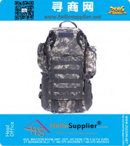 Outdoor mountaineering bag 45L double-shoulder travel backpack shiralee luggage Military Tactical Attack package