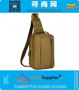 Tactical Messenger Bag Molle singola spalla in bicicletta Sling Bag militare pacco petto camuffamento Army Bag Caccia